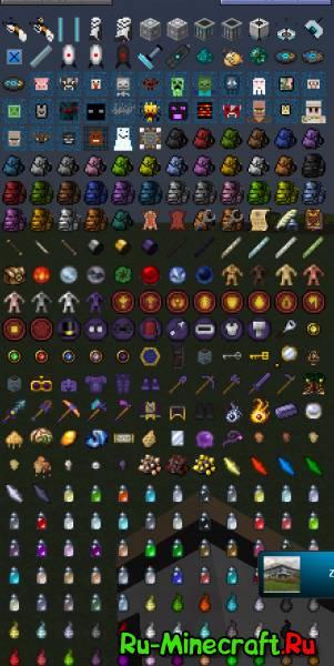 сборка rpg для minecraft