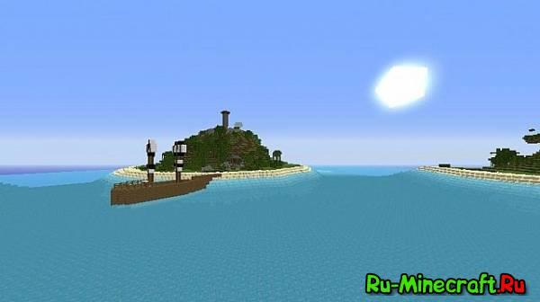 [Map] Pirate Island v2 - пиратский остров