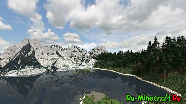 [Map][1.7+] 2K Realistic Custom Terrain Survival map - Попробуй выжить!