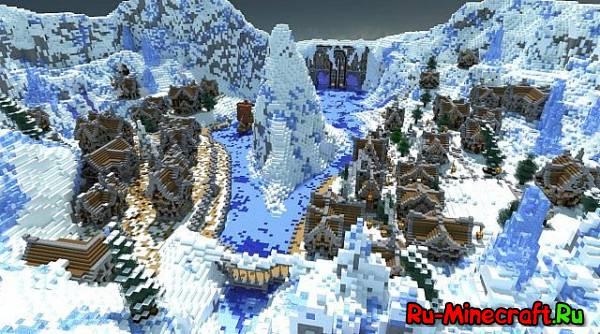[Map] Winter's Secret - секретная мастерская Санты!