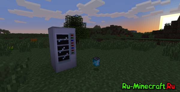 Vending Machine Mod - Газировка [1.6.4]