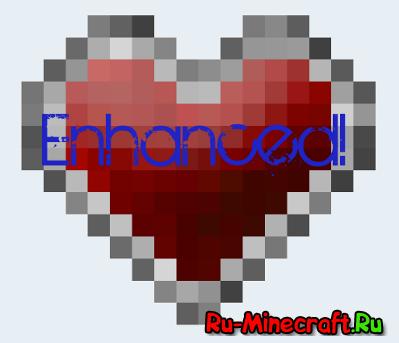 [1.2.5 - 1.6.4] More Health Enhanced - Прокачай своё здоровье