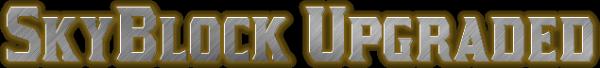 [MAP] SkyBlock Upgraded - изменённый SkyBlock