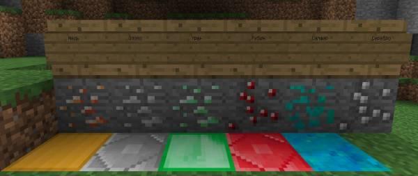 [1.5.2-1.10.2] M-Ore - новые руды в майнкрафт