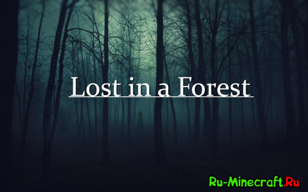 [Game] Lost in a Forest - Кинь в слендера унитазом