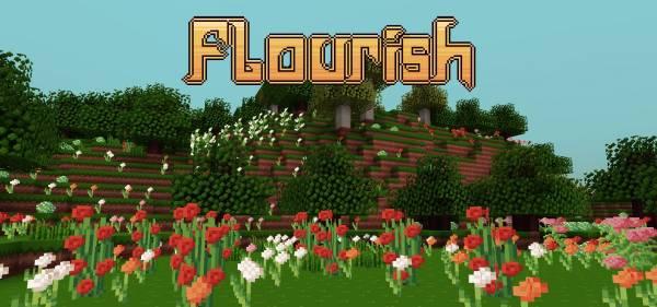 Flourish - Красивые текстуры! [1.10.2/1.7][16x]