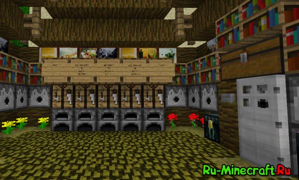 [Map] Quest maps Village для minecraft - карта на прохождение