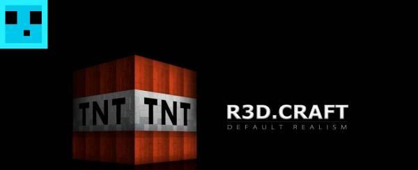 [1.7.4][512px] R3DCraft - Фикс от JappiRock!