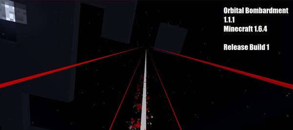 [1.6.4] Orbital Bombartment mod - Орбитальные удары!