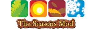 [1.7.4] Seasons Mod - времена года