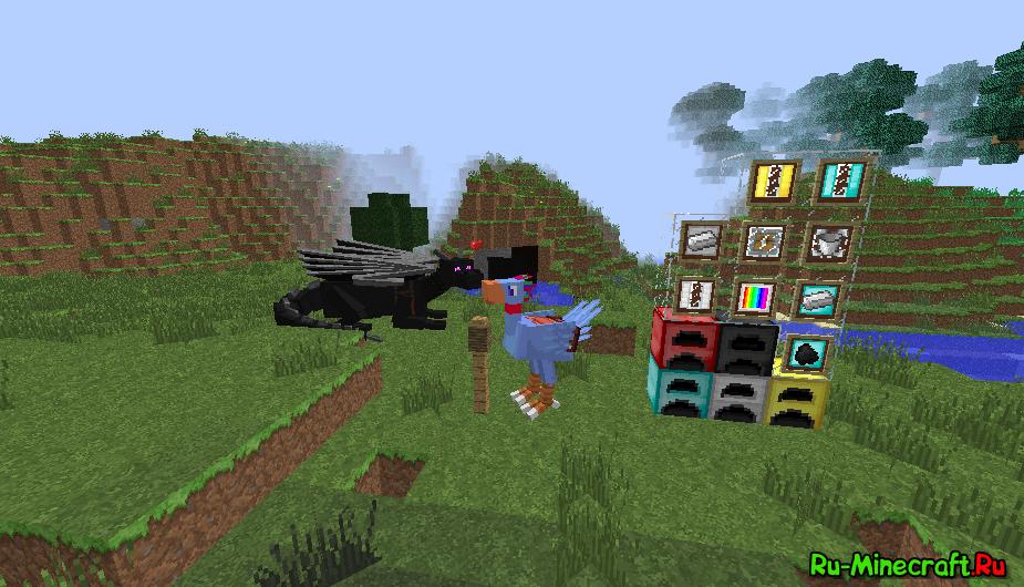 моды из сборок для minecraft 1.7.2 #9