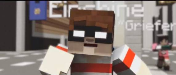 [Video] ♫ Griefer ♫ - A Minecraft Parody of Robbie Williams - Candy - пародия