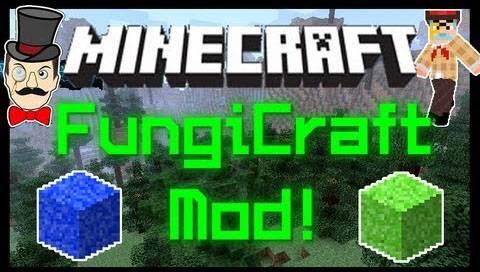 [1.7.2] Fungi Craft для Minecraft - генная инженерия