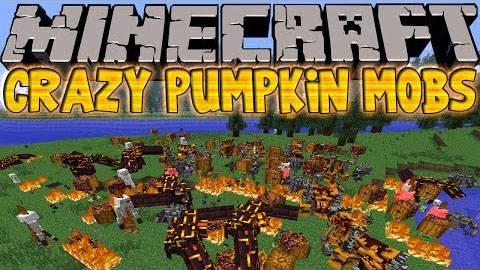 CrazyPumpkinsMod - Безумные тыквы [1.6.4]