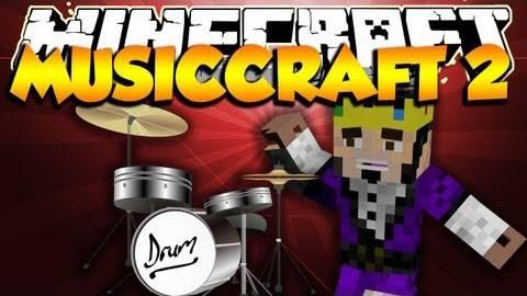 MusicCraft! Погрузись в музыку [1.5.2|1.7.2]