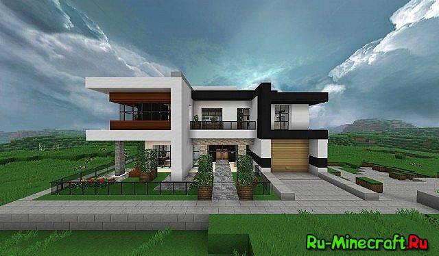[Map] Modern House - домик в современном стиле