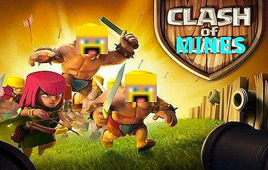 [1.7.5][32x] Clash of Mines - Clash of clans в майнкрафте