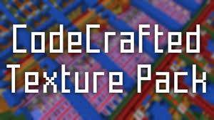 [1.7.5][16x] CodeCrafted - гладкие текстуры