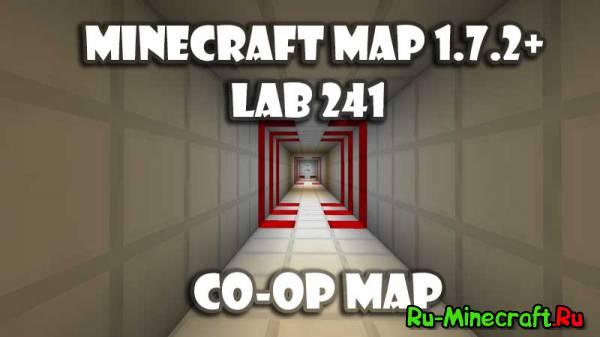 [Map][1.6.2+] Lab 241 - головоломка на двоих!