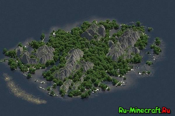 [Map] Karena - тропический остров