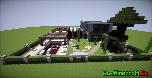 [Map] Pala-Modern House - красивый модерн домик!