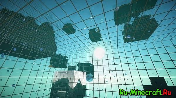 Cube World world Generator - генерируй кубы [1.12.2] [1.11.2] [1.10.2] [1.8.9] [1.7.10]