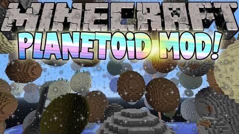 [1.6.4] Planetoid Mod - новая генерация мира!