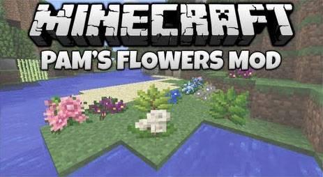 Pam's Weee! Flowers Mod - больше цветов [1.12.2] [1.7.10] [1.5.2]