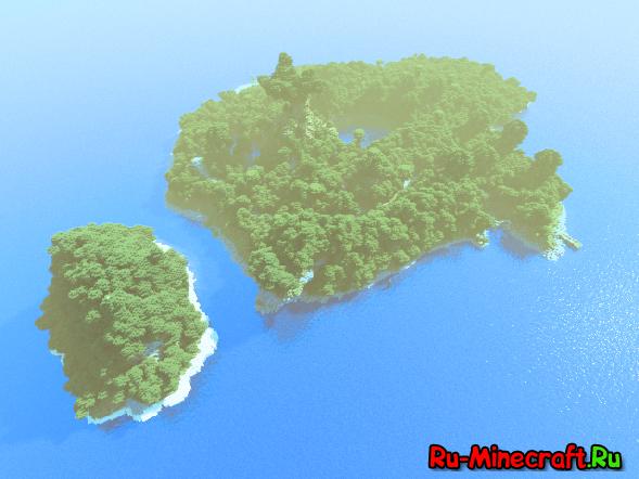 [Map] Outlandia — необитаемый остров с данжами