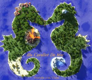 [Map] Seahorse Isle - морские коньки!