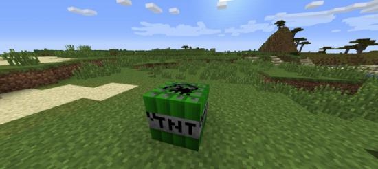 [1.7.2] Ultimate TNT - взрывы тут и там