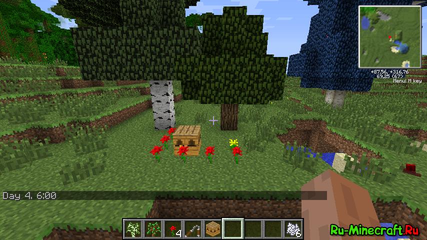 Guide] Скрещивание деревьев в Forestry » Инструкции, гайды minecraft