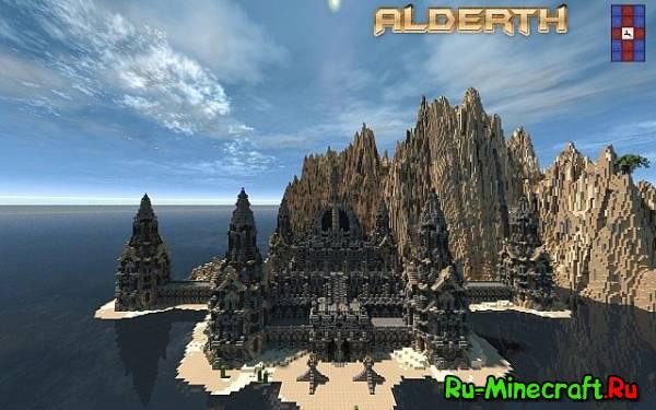 [Map][1.7] - Alderth - Фантастический замок в океане