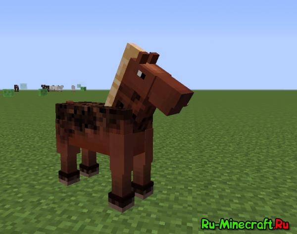 [1.7+][Forge] Better Horses-анимация лошадей!