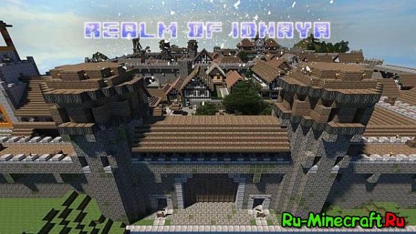 [1.7.5][32x] Realm of Idnaya Resource Pack - мрачноватые текстурки для Minecraft!