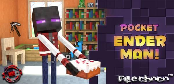 [Игры похожие на Minecraft][Android] Enderman -Самый лучший друг
