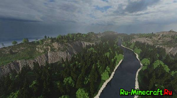 [Map] Summer Valley — Красивый ландшафт