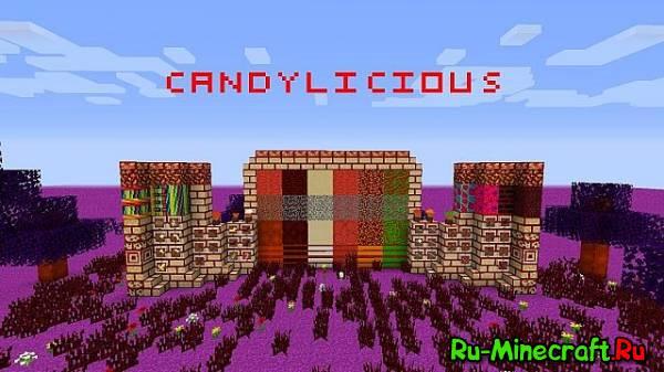 [1.7.4][16x]Candylicous - Сладкий ресурс-пак!