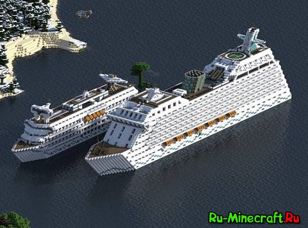 [Map] 2 Modern Cruise Ships — Круизные корабли