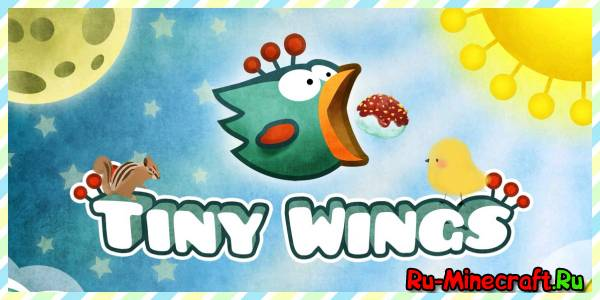[Game][iPhone][iPad] Tiny Wings - красочная игрушка про птичку
