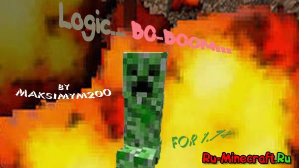 [Map][1.7+] Logic... BO-BOOM!!! by Maksimym200