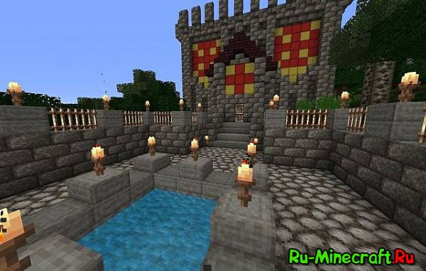 [1.7.8][16x]Cobblegrass — Средневековый ресурс-пак!