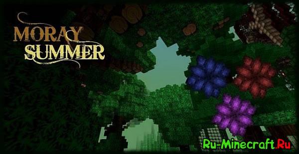 [1.7.8][32x]Moray Summer — Летний ресурс-пак!