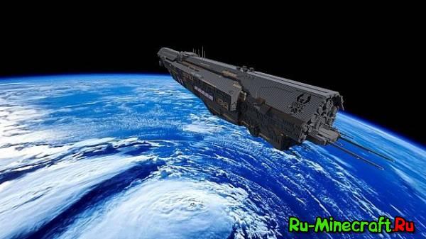 [Map][1.7+] (HALO) UNSC - INFINITY - Корабль из игры Halo