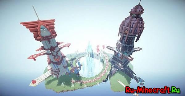 [Map] Dyan's Floating Battle Island — Летающий остров для пвп