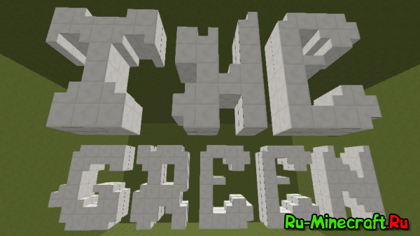 [Map] The Green — Antichamber теперь и в Minecraft!