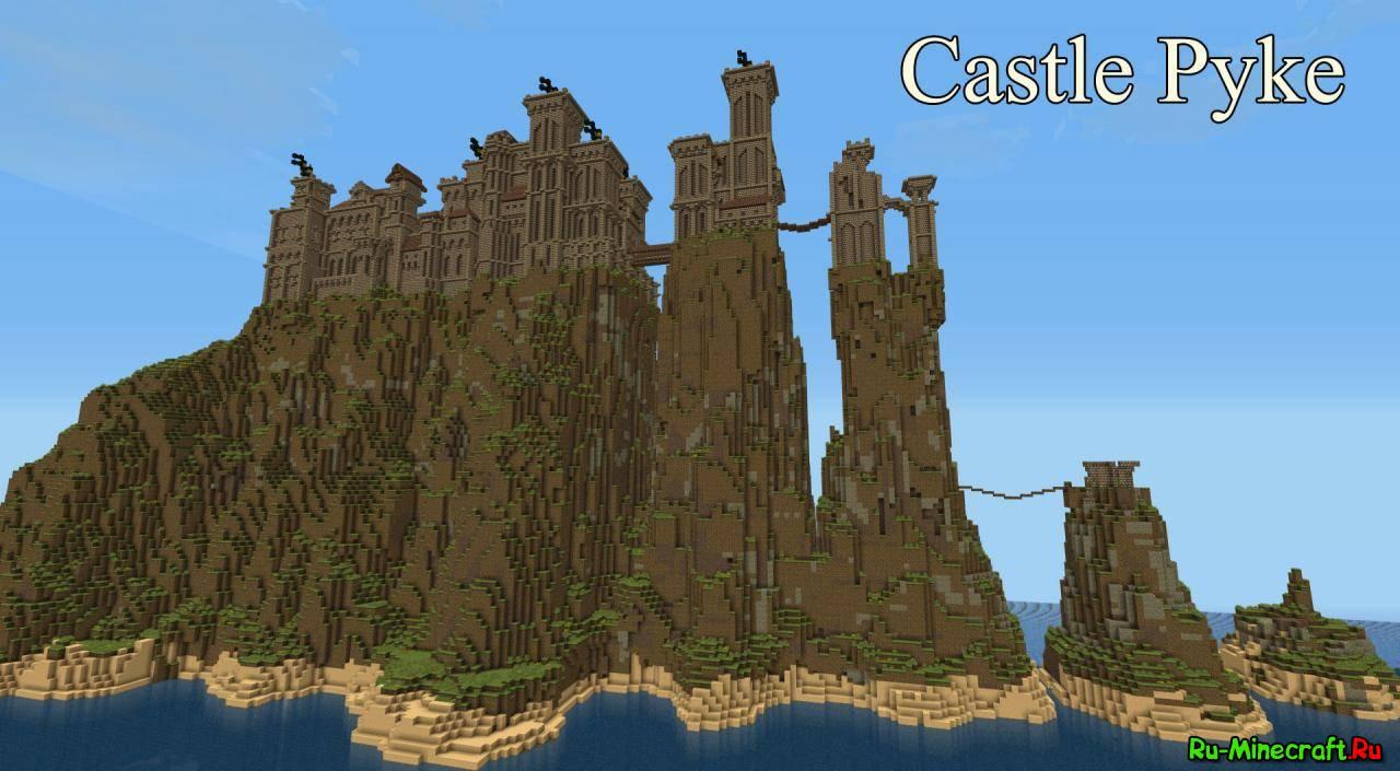 big castle churh карта для майнкрафт пе скачать #5