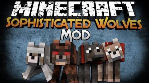 Sophisticated Wolves - собаки [1.12.2] [1.11.2] [1.10.2] [1.8.9] [1.7.10]