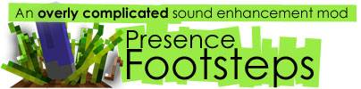 Presence Footsteps Mod - новые звуки ходьбы [1.16.2] [1.15.2] [1.14.4] [1.10.2] [1.9.4] [1.7.10]