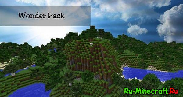 [1.7.4][32x]Wonder Pack — Реалистичные текстуры!